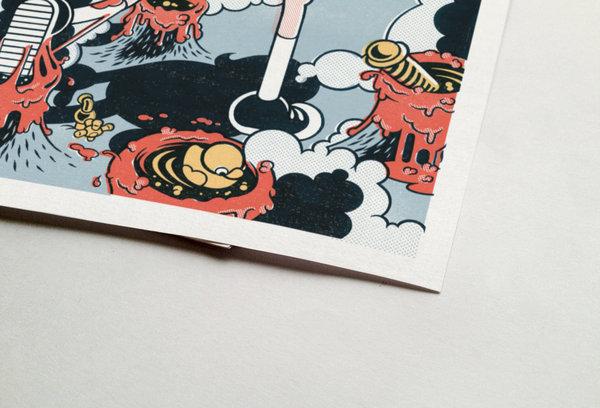 Sueño ilustrado por Ink Bad Company