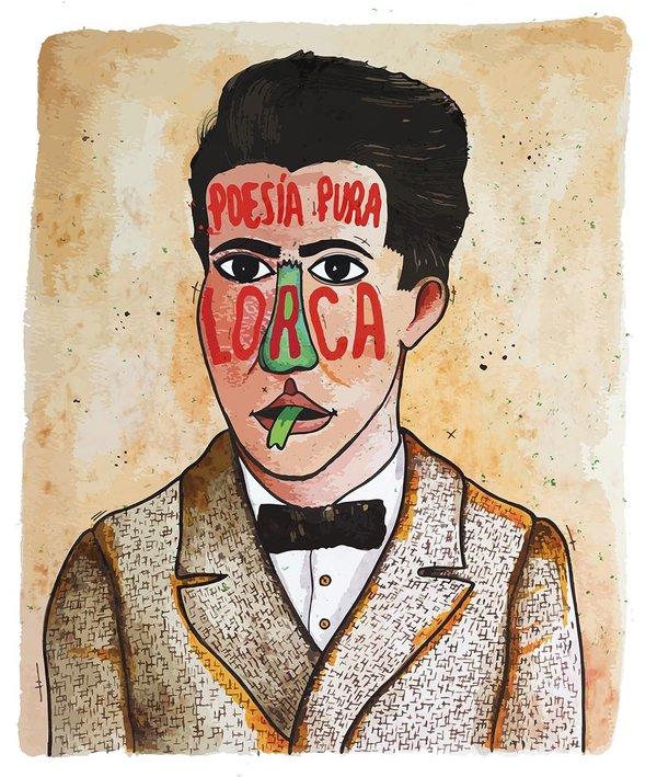 Añadimos nuevas recompensas: Prints de Lorca, Buñuel y Dalí realizados por Victormoner