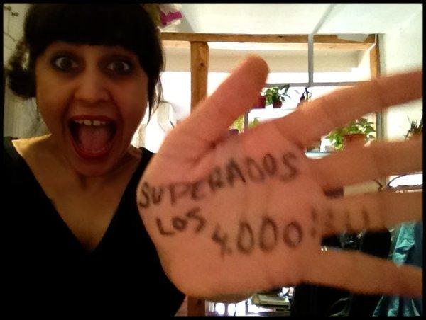Y llegamos a los 4000!!