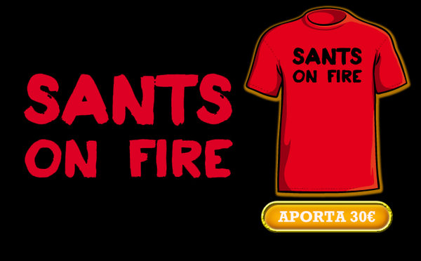 sants on fire