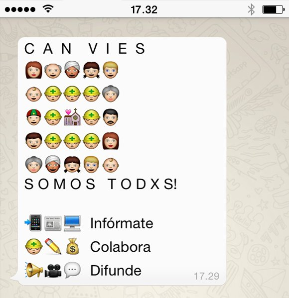 Whatsapp Can Vies Verkami