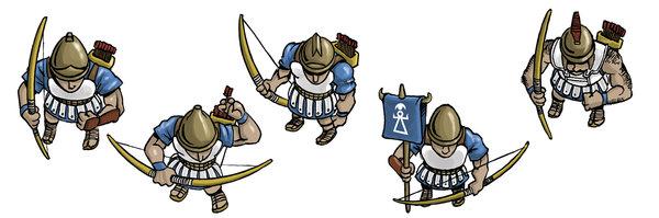 Unidad de arqueros púnicos