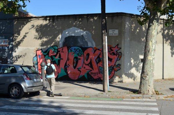 De nuevo con Asunción! Nuestro primer mural