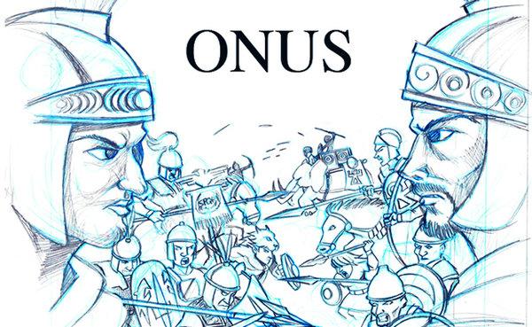 Boceto inicial de la ilustración de portada