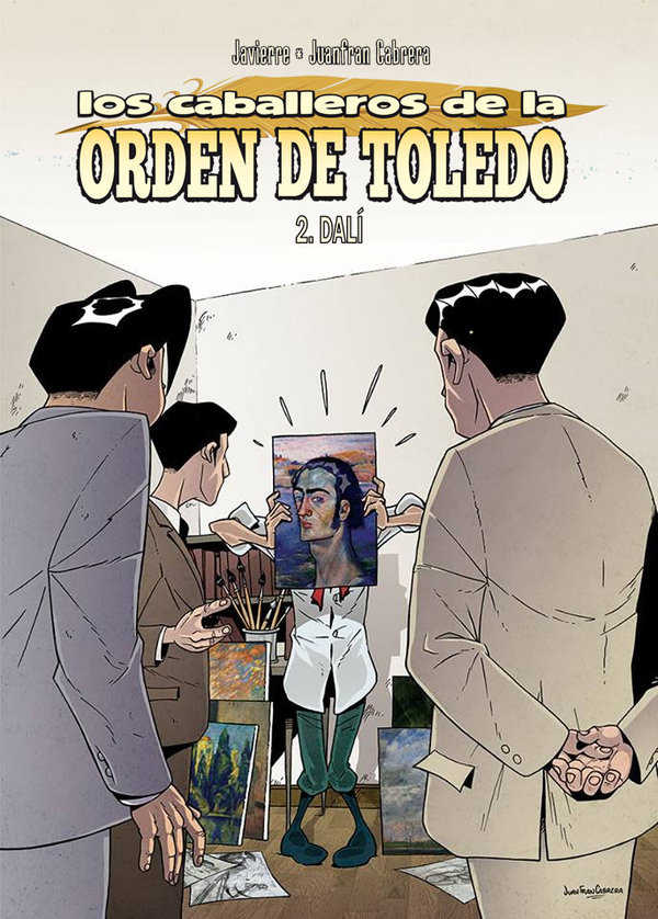 Portada del nº2 de los Caballeros de la Orden de Toledo