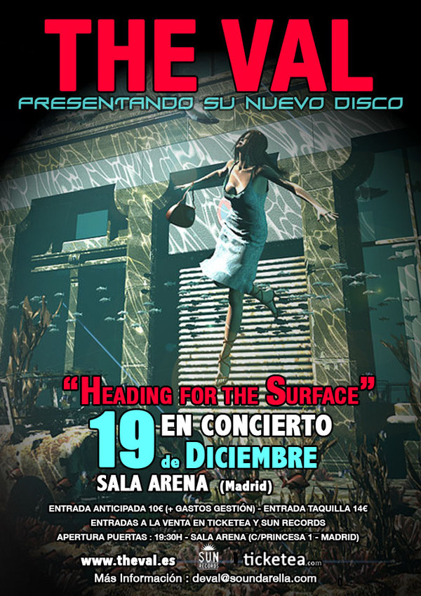 PRESENTACIÓN DEL DISCO EN MADRID 19 DE DICIEMBRE / PRESENTATION OF THE NEW ALBUM IN MADRID, DECEMBER 19