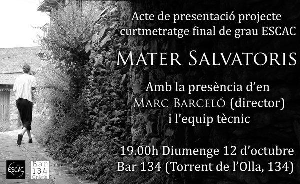 Presentació del projecte a Barcelona! Hi esteu tots convidats!