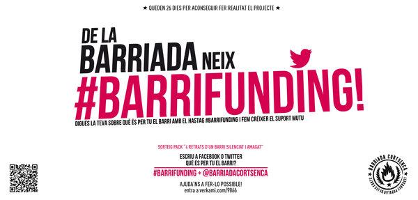 26 dies, Objectiu: 500€! #Barrifunding