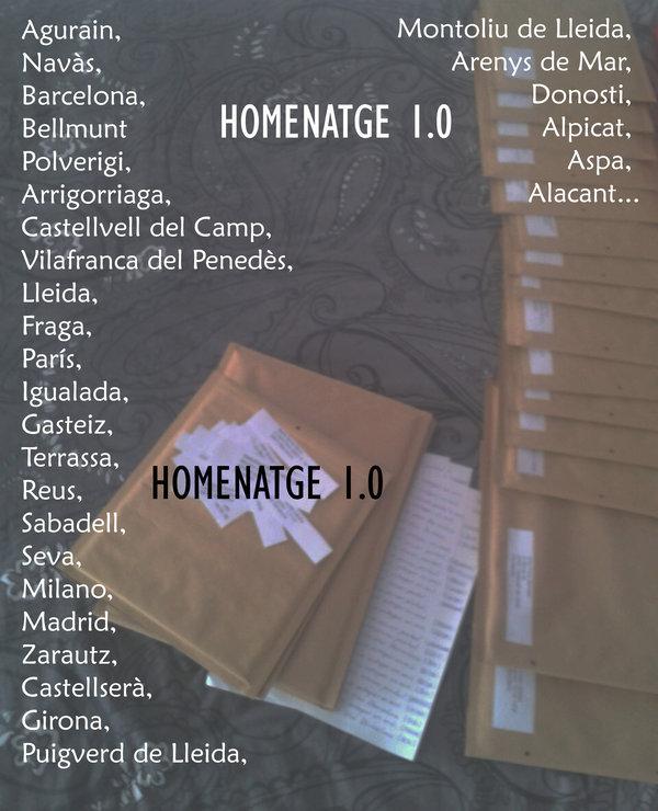 HOMENATGE 1.0 DIASPORA