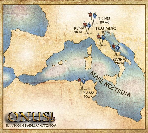 Mapa de Europa Campaña 1