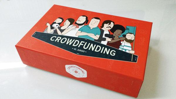 Prueba de imprenta de la caja de Crowdfunding el Juego Edición Verkami 2014