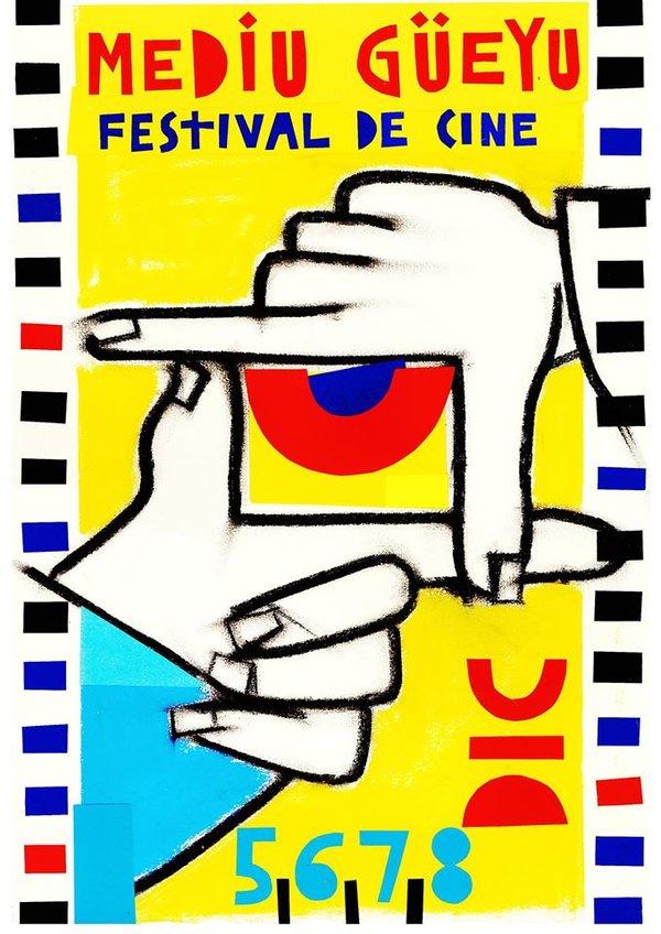 Cartel Mediu Güeyu Festival de Cine