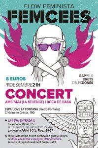 Este jueves, 'Ella', BOCAdeBABA y Mai en el concierto de presentación de 'Femcees Flow Feminista' en Barcelona