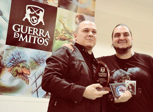 Dabla Hernández, Campeón Nacional de GDM 2014 con PaK, el creador del juego