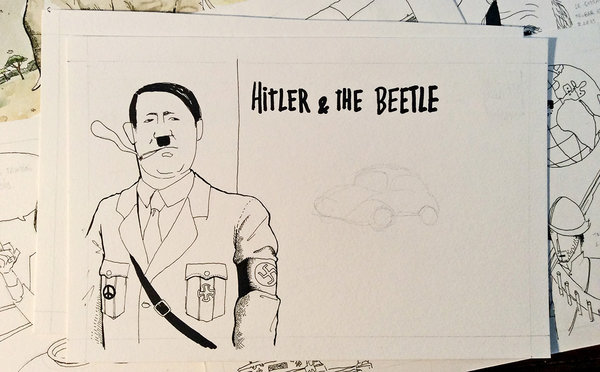 HITLER & THE BEETLE | BOCETOS