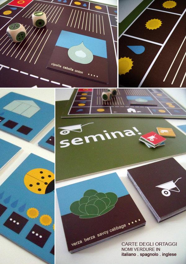 Semina!  (gioco .  juego . board game)