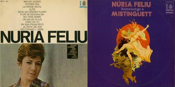 Nuria Feliu vinils 1 i 2