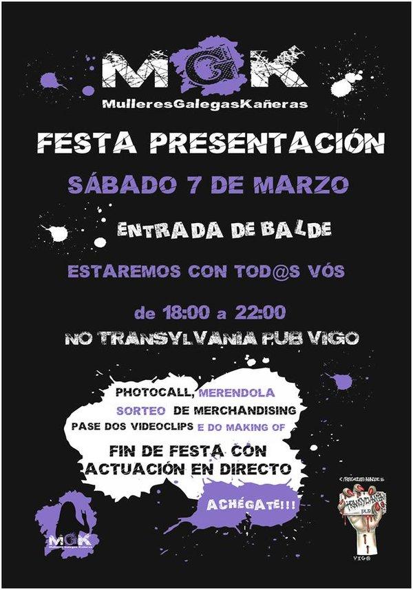 festa presentacion do proxecto MGK