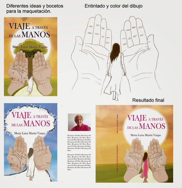 La portada del Viaje a través de las manos