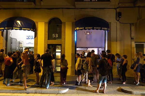 'Mai és tan fosc' en Barcelona - 25.3.2015