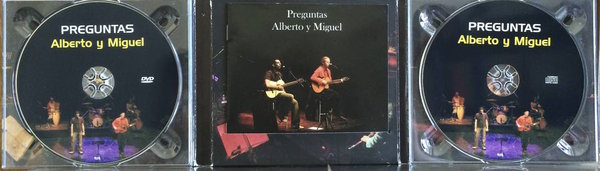 """Disco """"Preguntas"""" de Alberto y Miguel, como premio para los primeros mecenas, ¡no quedan muchas copias!"""