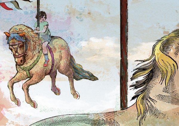 Pere Ginard, il·lustrador de la portada de Microcosmos#4