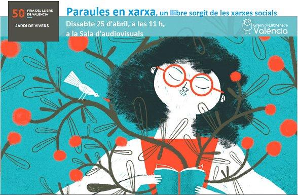 Dissabte, 25 d'abril, a la Fira del Llibre de València