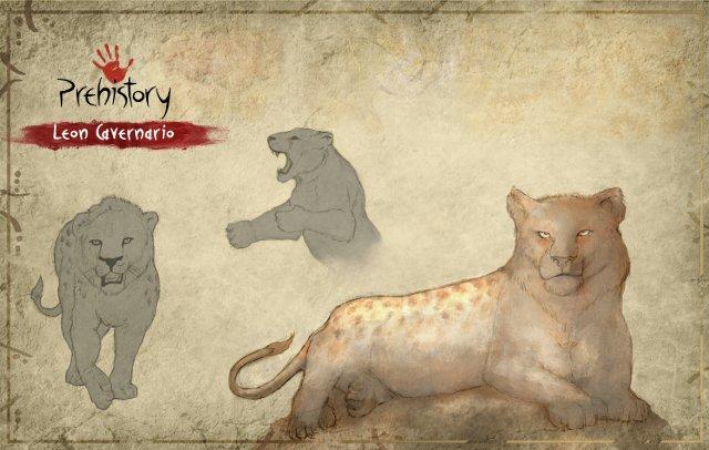 PREHISTORY: la realidad de un Survival/MMORPG educativo - León cavernario