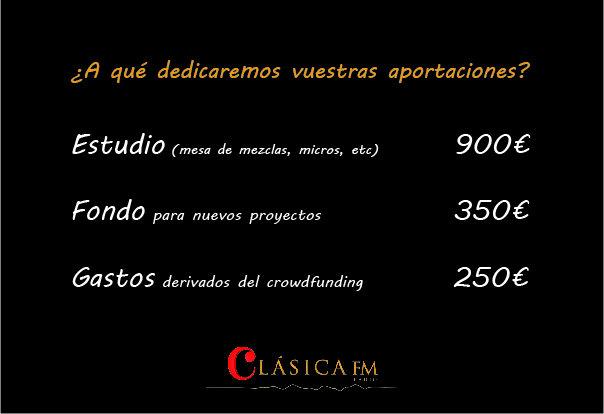 Clasica Fm Radio Otra Clasica Es Posible Verkami
