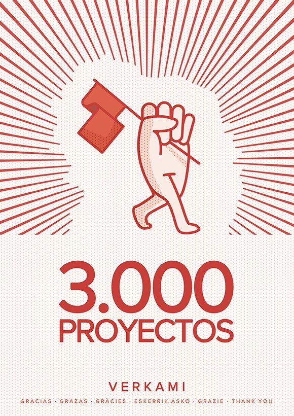3.000 Proyectos Verkami