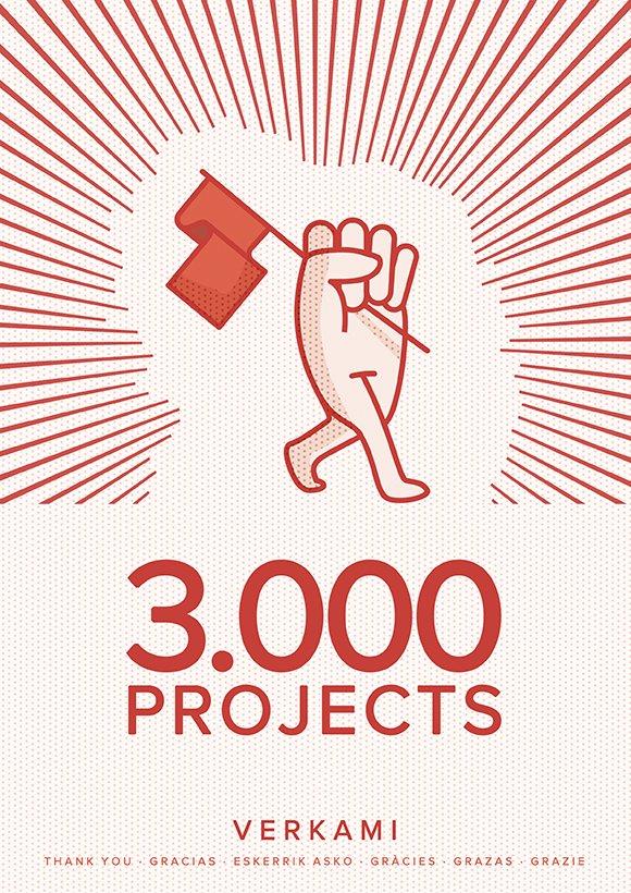 3.000 projects verkami