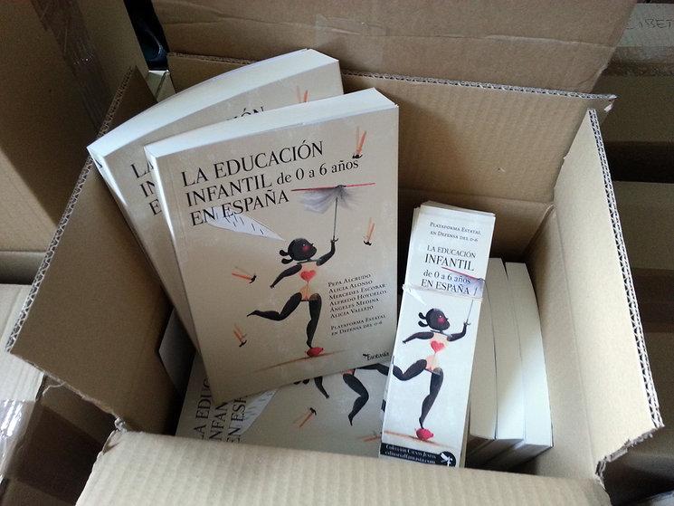 Comenzamos a enviar los ejemplares de La educación infantil en España