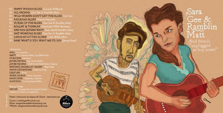 """""""Unplugged At Bop Street"""" a la venta en formato digital en Bandcamp por 7€"""