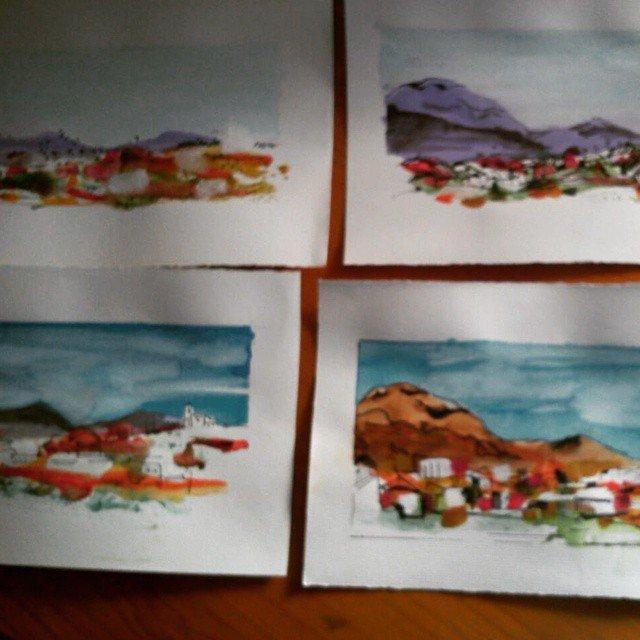 Ja tenim quasi totes les aquarel·les!