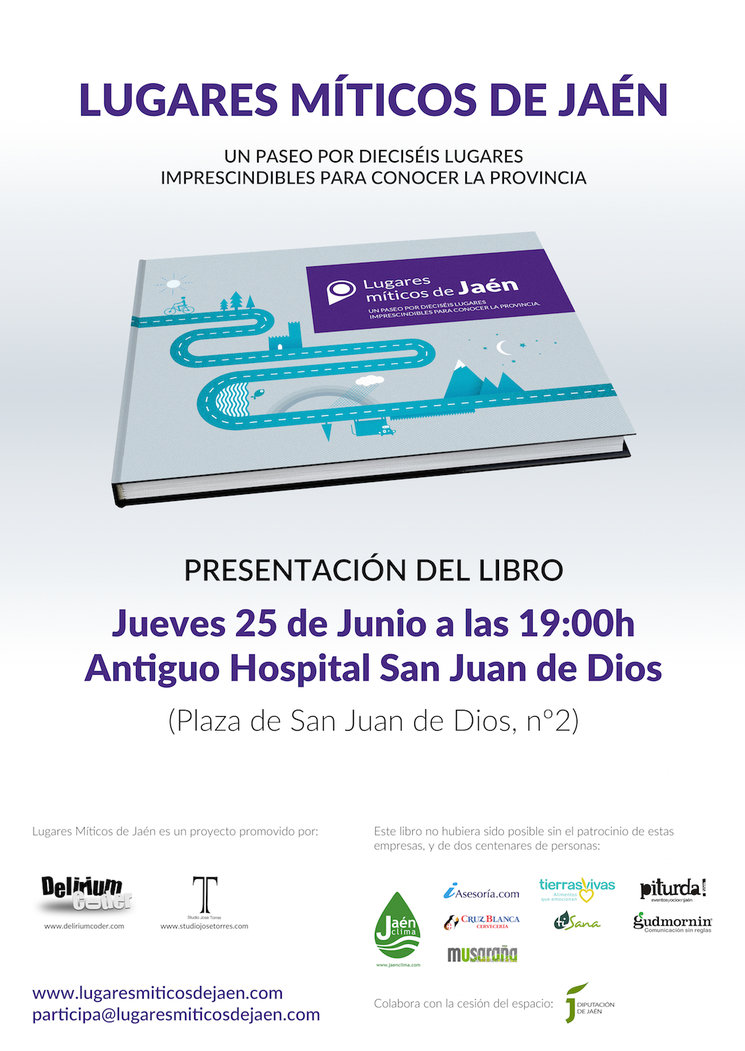 Presentación del libro de Lugares Míticos de Jaén