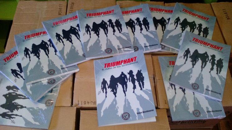 Triumphant recién salido de imprenta