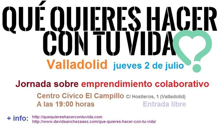 ¿Qué quieres hacer con tu vida? en Valladolid