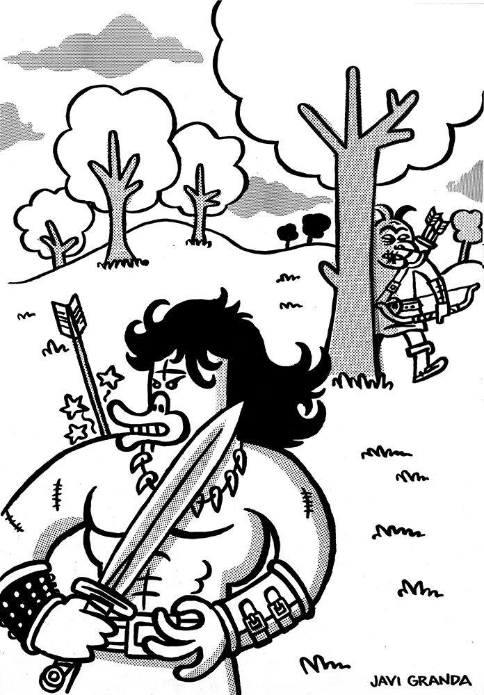 ¿Quieres una ilustración original de PATOWAR realizada por Javier Granda?