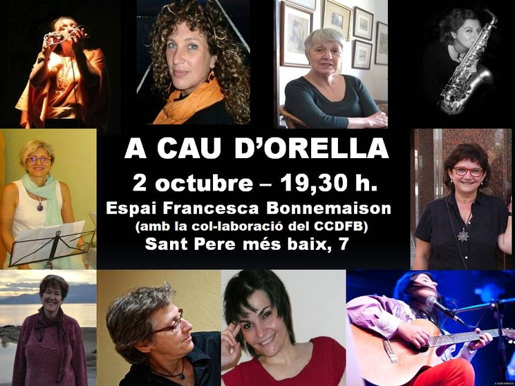 "PRESENTACION LIBRO-CD ""A CAU D' ORELLA"""