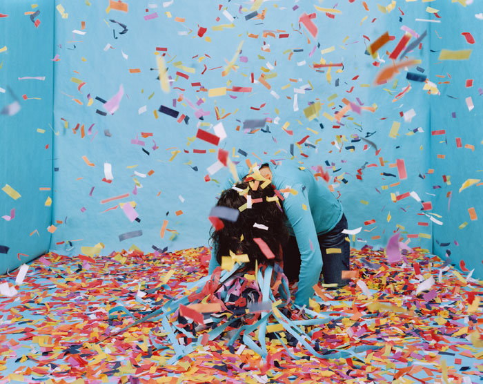 Untitled, Turquoise Room #5. 2007 © Gina Osterloh del catálogo Asian Serendipity publicado por La Fábrica