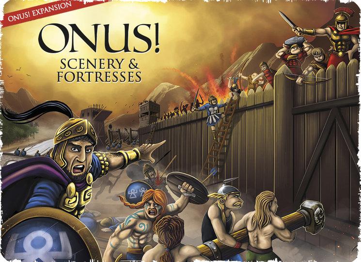 Nuevas expansiones ONUS!: Griegos y Persas - Terrenos y Fortalezas
