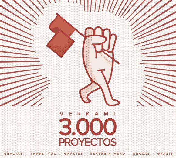 ¡Verkami, 3000 proyectos!
