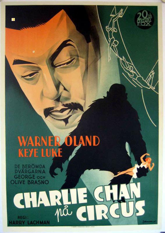 Un criminólogo entre bambalinas. Charlie Chan en el Circo (1936)