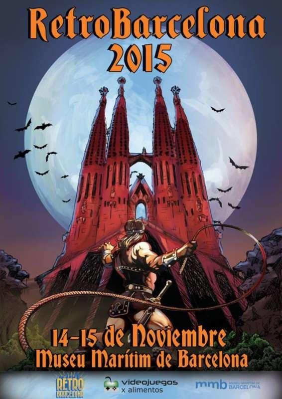 Pad of Time en RetroBarcelona 2015 + 1º Torneo oficial