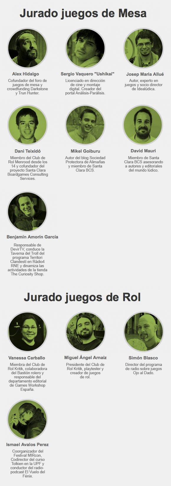 JURADO MESA y ROL