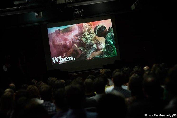 Presentación MAD5W en el Centro Cultural Galileo. Luca Piergiovanni.