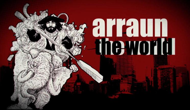 PRE_ESTRENO de OLENTZERO MUNDUAN, ARRAUN THE WORLD!!!