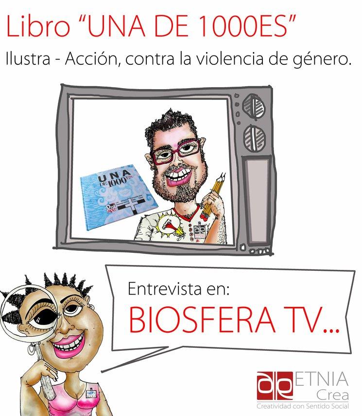 2 PARTE UNA DE 1000ES en BIOSFERA TV - CANAL DE TELEVISIÓN EN LANZAROTE