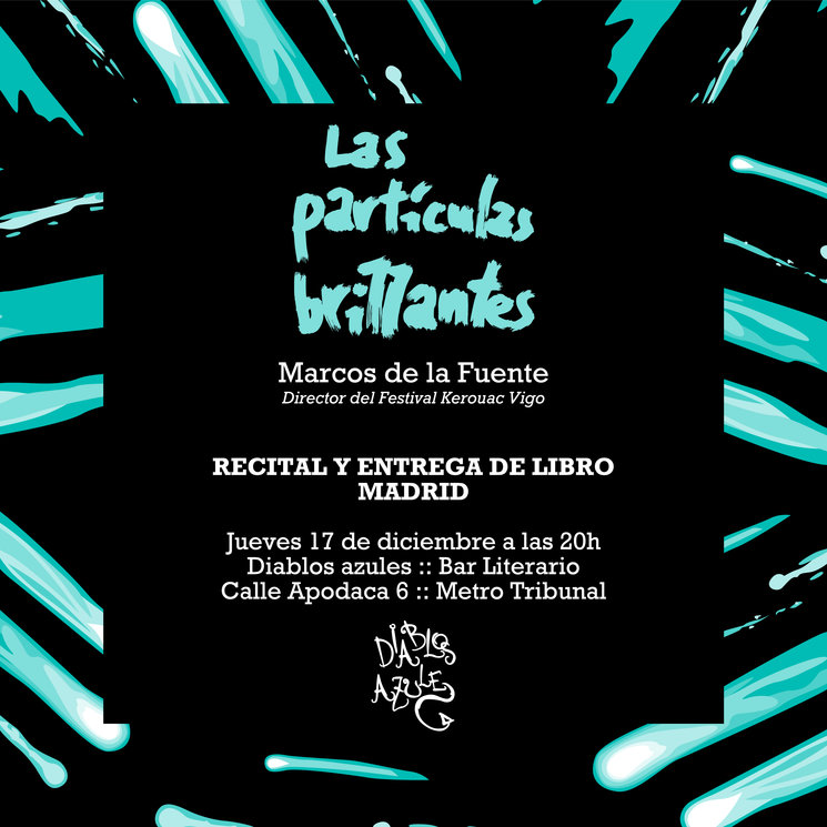 PARA LOS MECENAS DE MADRID: ENTREGA DE LIBROS ESTE JUEVES 17 A LAS 20H EN DIABLOS AZULES :: METRO TRIBUNAL