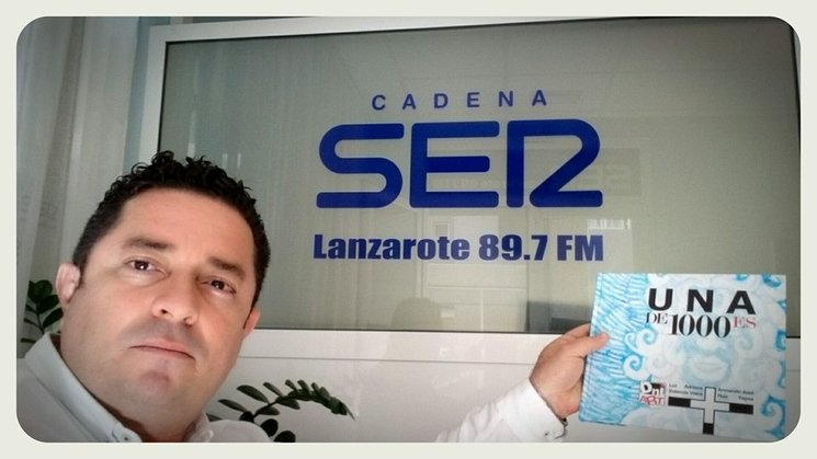 UNA DE 1000ES en CADENA SER Lanzarote 89.7 FM